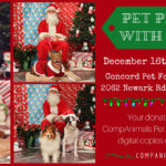 CompAnimals Pet Photos with Santa 121617